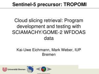 Sentinel-5  precursor : TROPOMI