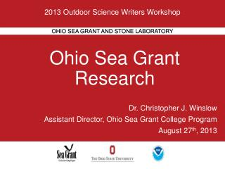 Ohio  Sea Grant Research