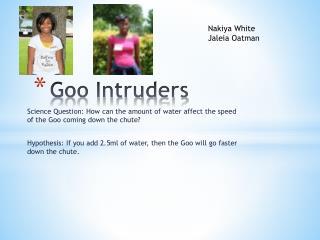Goo Intruders