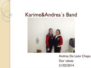 Karime&Andrea´s Band