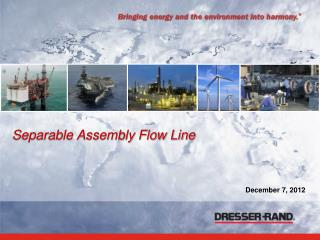 Separable Assembly Flow Line
