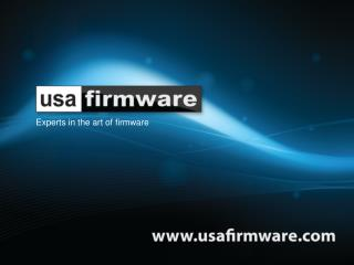 Experts in the art of firmware