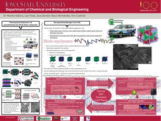 Department of Chemical and Biological Engineering