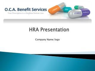 HRA  Presentation