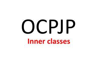 OCPJP