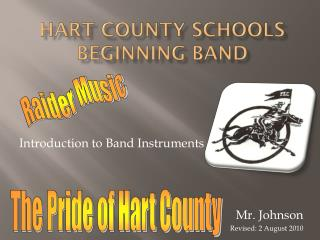 Hart County Schools Beginning  Band