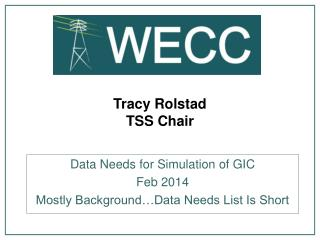 Tracy Rolstad TSS Chair