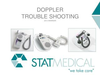 Doppler  Trouble Shooting 2013 WEBINAR