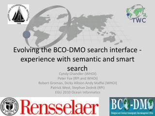 Evolving the BCO-DMO search interface - experience with semantic and smart search