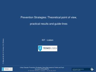 Prevention Strategies :  Theoretical point of view ,  practical results and guide-lines