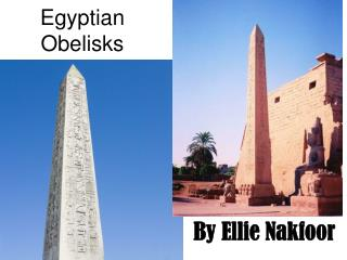 Egyptian Obelisks