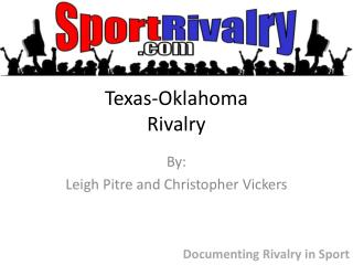 Texas-Oklahoma Rivalry