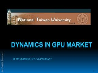 Dynamics in gpu market
