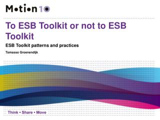 To ESB Toolkit or not to ESB Toolkit