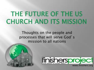 The Future of the US Church and Its Mission