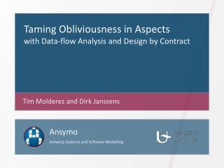 Taming Obliviousness in Aspects  with Data-flow Analysis and Design by Contract