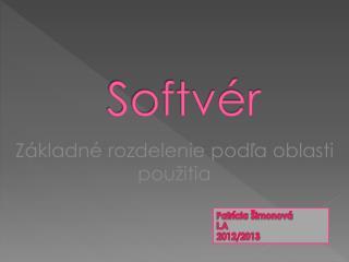 Softvér