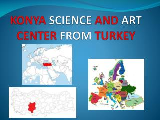 KONYA SCIENCE AND ART CENTER FROM TURKEY