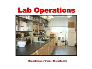 Department of Forest Biomaterials