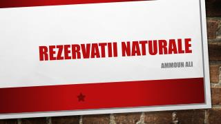 Rezervatii Naturale
