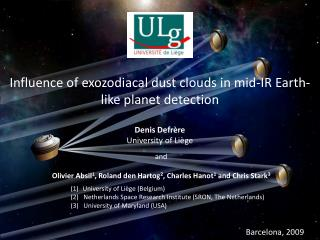 Influence of exozodiacal dust clouds in mid-IR Earth-like planet detection