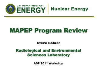 MAPEP Program  Review