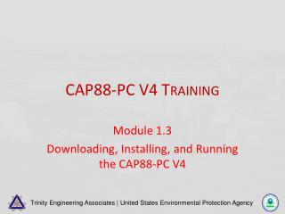 CAP88-PC V4 Training