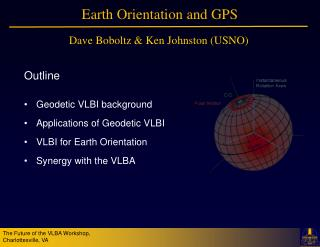 Earth Orientation and GPS