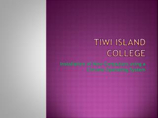 Tiwi Island College