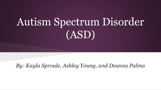Autism    Employment Options