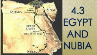 4.3 Egypt and Nubia