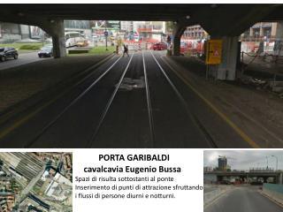PORTA GARIBALDI     cavalcavia Eugenio Bussa Spazi di risulta sottostanti al ponte