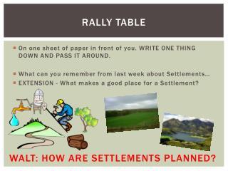 Rally table