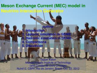 Meson Exchange Current (MEC) model in  Neutrino Interaction Generator