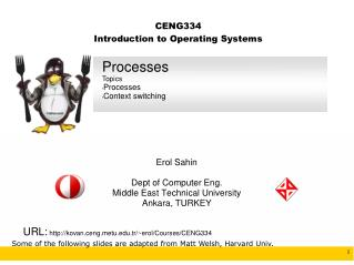 CENG334 Introduction to Operating Systems