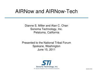 AIRNow and AIRNow-Tech