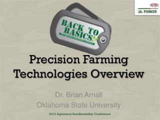 Precision Farming Technologies Overview