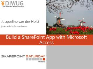 Build a SharePoint App with Microsoft Access