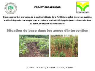 PROJET  CORAF/CWWB