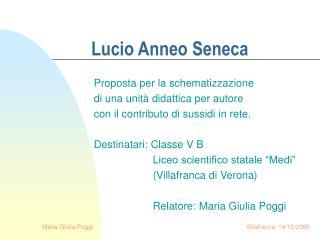 Lucio Anneo Seneca