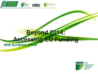 Beyond 2014: Accessing EU Funding