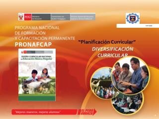 �Planificaci�n Curricular�