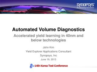 Automated Volume  Diagnostics
