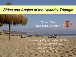Sides and Angles of the  Unitarity  Triangle