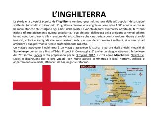 Regioni  e provincie inglesi