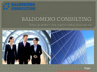 BALDOMERO CONSULTING Your partner for successful business