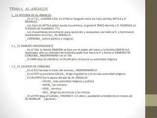 TEMA 6_ AL-ANDALUS