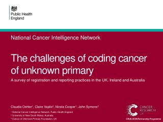 The  challenges of coding cancer of unknown  primary