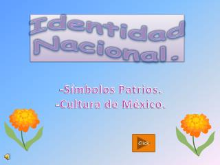 Identidad Nacional.