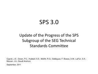 SPS 3.0